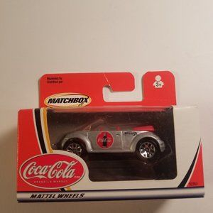 coca cola matchbox beetle car new in box